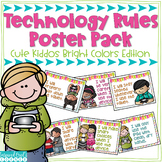 Technology Rules Poster Pack Bright Colors Edition
