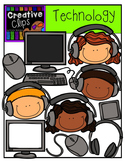 Technology Set 1 {Creative Clips Digital Clipart}