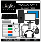 Technology Set 2 Clipart {A Hughes Design}