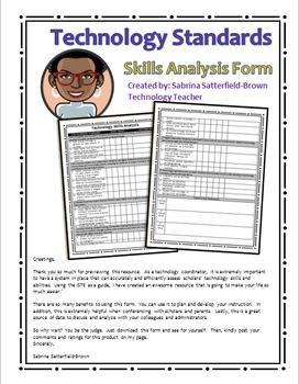 Technology: Skills Analysis Form