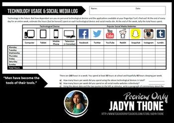 Technology & Social Media Log