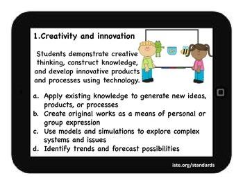 Technology Standards K-5 for classroom
