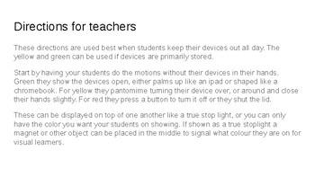 Technology Stop Light