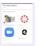 Technology Support Tickets/Log