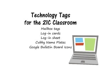 Technology Tags for the 21C Classroom