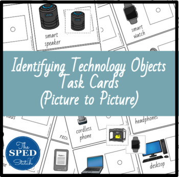 Technology Task Cards - Picture to Picture