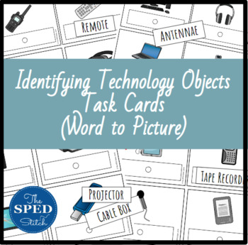 Technology Task Cards - Word to Picture