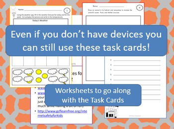 Technology Task Cards for Primary Students
