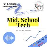 Technology Teacher Curriculum Beginning of Year GROWING BUNDLE