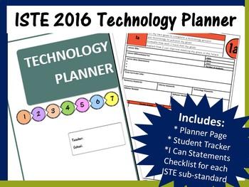 Technology Teacher Planner & Assessment Binder (ISTE 2016 Standards)
