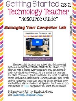 Technology Teacher Resource Guide