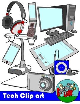 Technology Tech School Clipart