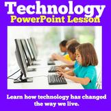 Technology Then and Now | Kindergarten 1st 2nd 3rd Grade PowerPoint