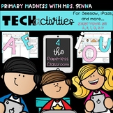 Technology Activities for Seesaw and more! – Short Vowels A, E, I, O, and U