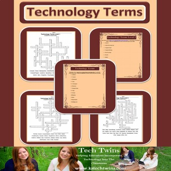 Technology Terms Activities