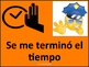 Technology Theme Behavior chart -Spanish