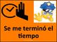 Technology Theme Behavior chart -Spanish
