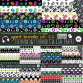 Technology Theme Digital Paper Bundle - 42 Papers