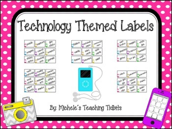 Technology Themed Class Labels