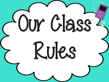 Class Rules: Technology Themed