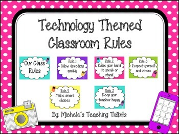 Technology Themed Class Rules
