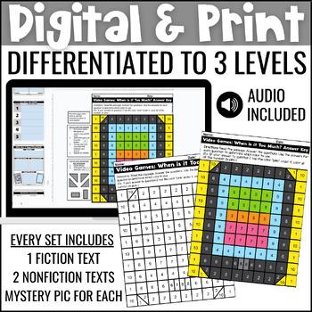 Close Reading Comprehension Passages: Technology Themed | ELA Test Prep