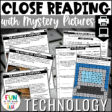 Technology Themed Close Reading Comprehension Passages | E