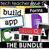 Technology Themed Decor Classroom Set BUNDLE