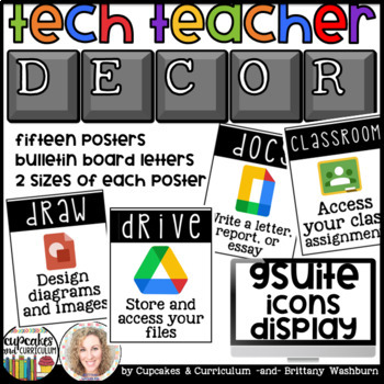 Technology Themed Decor GAFE Posters