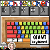 Technology Themed Decor Giant Keyboard