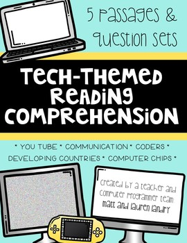 Technology Themed Reading Comprehension Passages and Questions