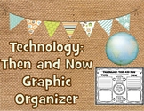 Technology Long Ago Then and Now Graphic Organizer