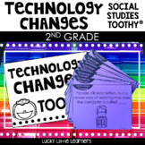 Technology Then and Now Toothy® | Social Studies Toothy® Task Kits