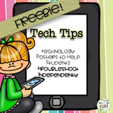 Technology Tip Posters to help student troubleshoot indepe