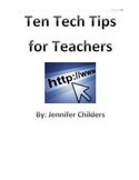 Technology Tips For Teachers