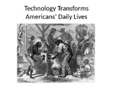 Technology Transforms Antebellum America