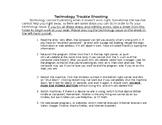 Technology Trouble Shooting Folder-Windows Version