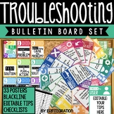 Technology Troubleshooting Posters, Checklists, Bulletin B