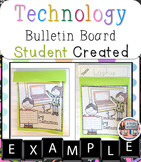 Technology Vocabulary Bulletin Board