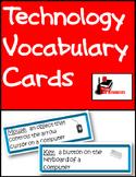 Technology Vocabulary Cards