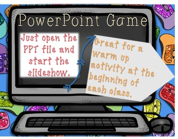 Technology Vocabulary PowerPoint Game