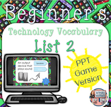 Technology Vocabulary PowerPoint Game List 2