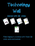 Technology Wall  Banner with QR  codes
