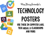 Technology Website Poster Set