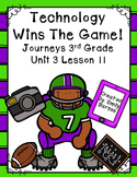 Technology Wins The Game Journeys 3rd Grade Lesson 11