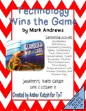 Technology Wins the Game Mini Pack 3rd Grade Journeys Unit 3, Lesson 11