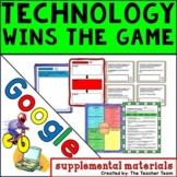 Technology Wins the Game Journeys 3rd Grade Unit 3 Google Digital Resource