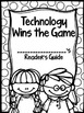 Technology Wins the Game Journey's Supplemental Activities Third Grade Lesson 11