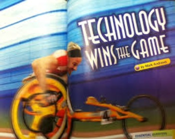 Technology Wins the Game Journeys Unit 3 Lesson 11 Day 1