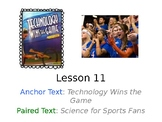 Technology Wins the Game PowerPoint with Weekly Activities Journeys Grade 3